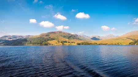 Stunning landscape, Loch Katrina, Scottish Highlands, UK photo