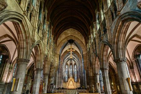 episcopal: St. Marys Episcopal Cathedral interior, Edinburgh, Scotland, UK5 Editorial