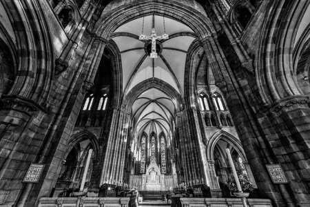 episcopal: St. Marys Episcopal Cathedral interior, Edinburgh, Scotland, UK