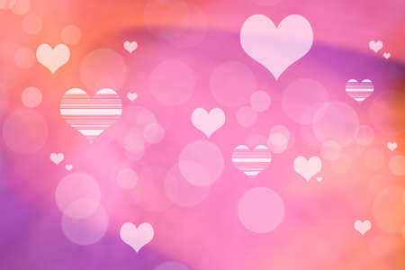 Valentine Hearts Abstract Background. St.Valentine\'s Day Wallpaper ...