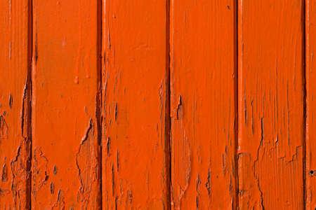 Orange wooden background texture photo