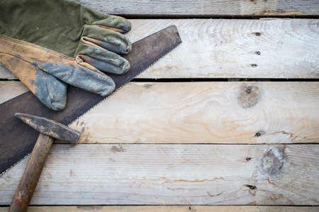 redecorating: Handyman tools, diy concept