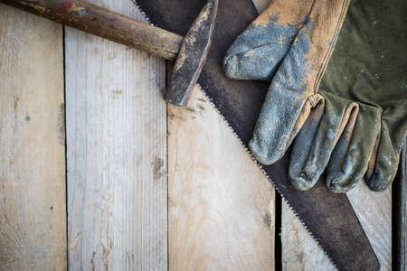 Handyman tools, diy concept