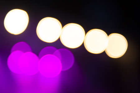 concert background: Abstract purple concert lights bokeh background