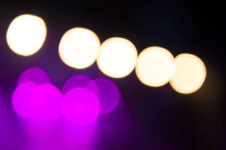 concert lights: Abstract purple concert lights bokeh background