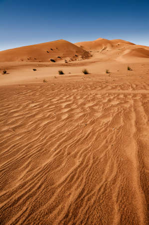 erg: Sahara desert, Erg Chebbi, Morroco Stock Photo