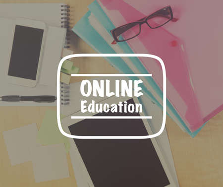 opportunity discovery: Online education concept