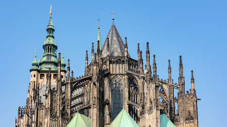 christendom: St. Vitus cathedral in Prague, Czech Republic
