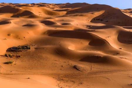 erg chebbi: Bedouin nomad tent camp, Erg Chebbi, Morocco, Sahara, Morocco