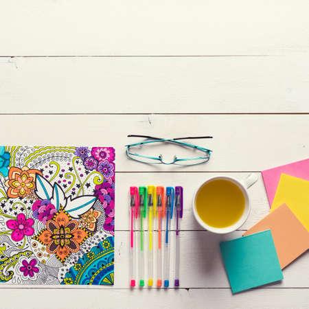 autocuidado: libros para colorear para adultos, el estr�s nueva tendencia aliviar