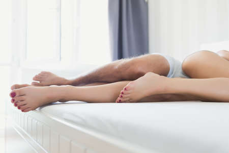 Nackedcouple in the bed
