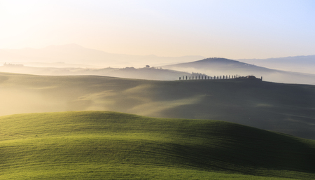 san quirico d'orcia: San Quirico dOrcia countryside, Val dOrcia, Tuscany, Italy