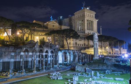 lazio: Rome, Lazio, Italy. The Forum of Augustus Editorial