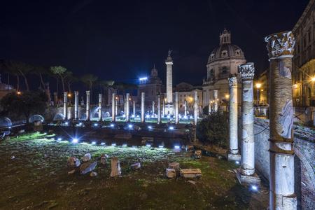 lazio: Rome, Lazio, Italy. The Trajans Column