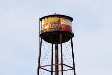 Old water tower Banco de Imagens