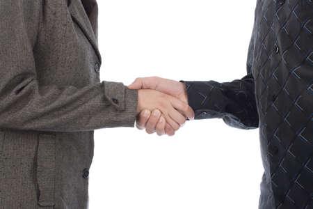 pacto: business handshake,studio shoot