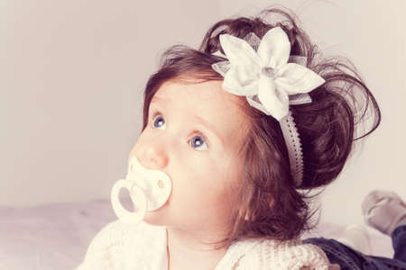 ojos hermosos: Retrato de niño muy dulce