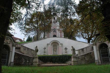 katarina: calvary - Heiligenkreuz Stock Photo