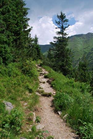 Slovakia - High Tatra mountains Stock Photo