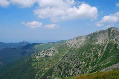 tatra: Slovakia - High Tatra mountains Stock Photo