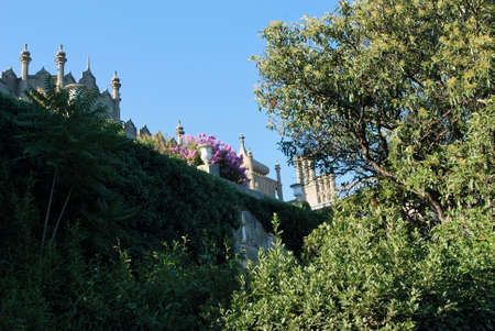 Ukraine - Crimea - Vorontsovs Palace Stock Photo - 24410926