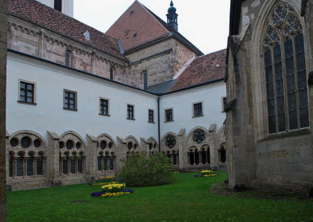 Austria - monastery Heigenkreuz Stock Photo - 37093015