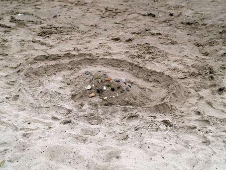sandcastle: Sandcastle Stock Photo