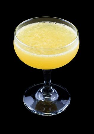 ajenjo: C�ctel Mono Gland, que consiste en ginebra, zumo de naranja, la absenta y granadina