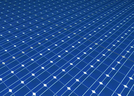Solar cells panel seamless computer generated pattern Stock Photo - 7445568