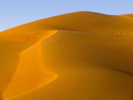 Desert, Saudi Arabia - changing patterns of the Liwa Desert, which is part of the Rub al Khali Desert or Empty Quarter, straddling UAE, Oman, Yemen and Saudi Arabia