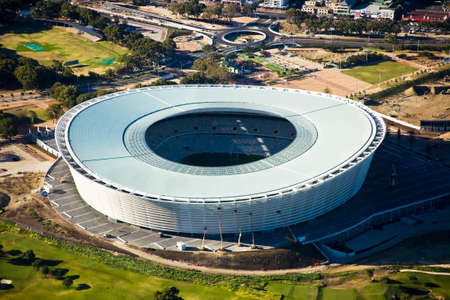 Aerial view of Cape Town Stadium, South Africa Stock Photo - 134758700