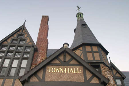 Town Hall closeup photo