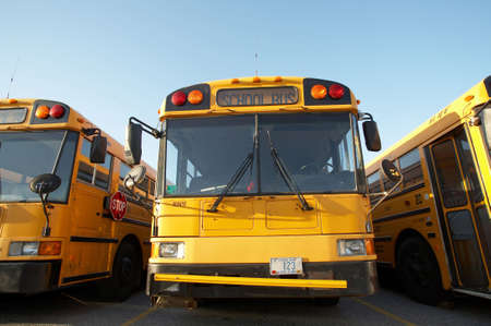 Yellow school bus Stock Photo - 2779322
