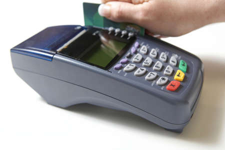 swipe: Credit card swipe through terminal for sale