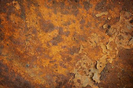 Orange Rost Grunge abstrakt Hintergrund Textur-Muster  Standard-Bild