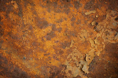 Orange rust grunge abstract background texture pattern