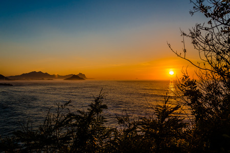 amanecer: Small beach, located in the West Zone of Rio de Janeiro - Brazil