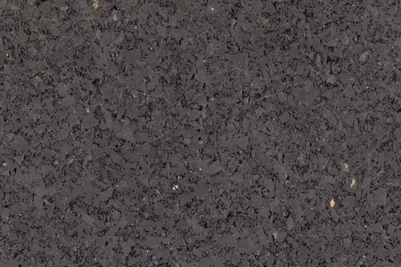 inclusions: black new packed solid with inclusions of asphalt