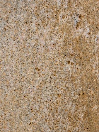 blotches: bright brown granite with gray and orange stripes and blotches