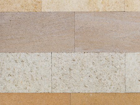 inclusions: Light beige travertine smooth handsome, four different shades and with small pits and inclusions