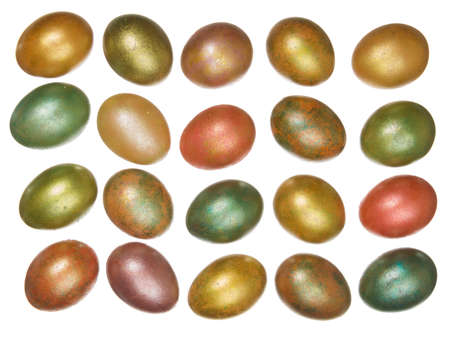 priceless: egg, easter, colored, eggs, shiny, color, image, white, celebration, golden, background, concepts, isolated, holiday, object, gold, objects, backgrounds, celebrations, multi, view, horizontal, life, priceless, symbol, wealth, treasure, gift, season, group