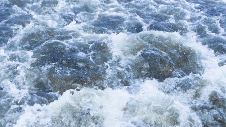 seething: clean water bubbling and splashing splashing splashes and drops Stock Photo