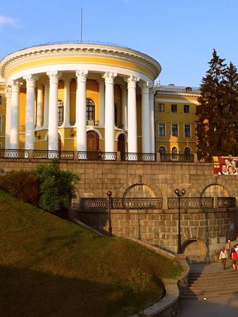 kiev: Theater October Palace in Kiev of  Ukraine Editorial