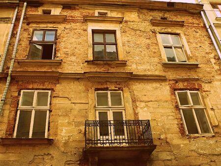 lviv: Old building in Lviv (Ukraine)