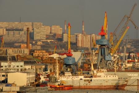 lejos: Rusia - la bella ciudad de Vladivostok - Extremo Oriente