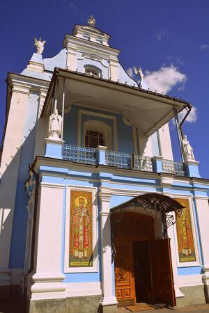 old landmark church in Ukraine