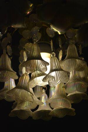 unusual light from illuminating lamps