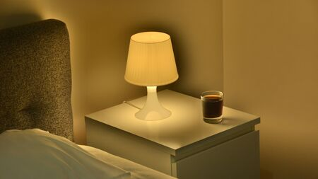 illuminating: unusual light from illuminating lamps