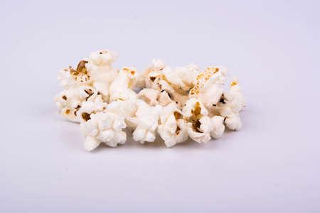 rick: Rick popcorn on a white background Stock Photo