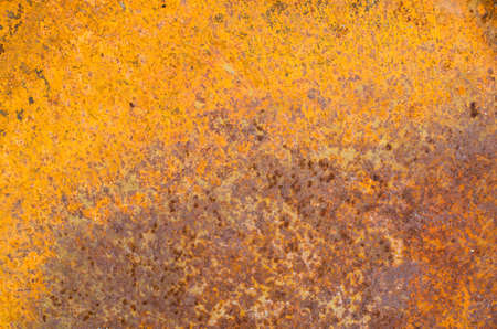oxidate: Rust on an old sheet of metal texture